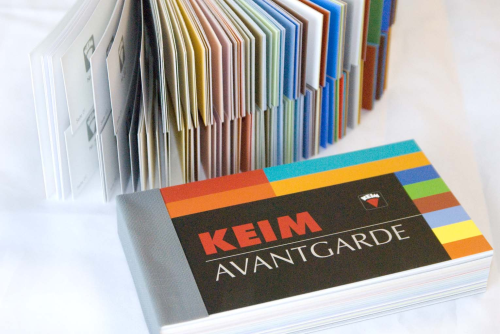 KEIM Avantgarde Color Palette Book