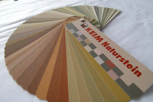 KEIM Naturstein Color Palette Book