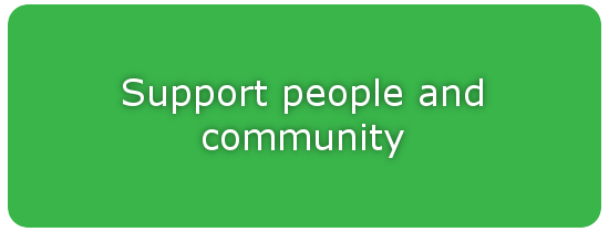 Support people and community