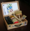 Design Lasur Kit- in wood box