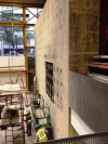 GWU Science & Engineering Hall--Interior Concrete Walls: Before