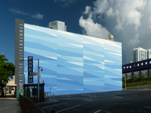 Commonwealth Building Mural: Urban Ripples