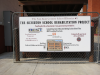 Silverton High School Gymnasium: Funding recognition for the Silverton School Rehabilitation project.